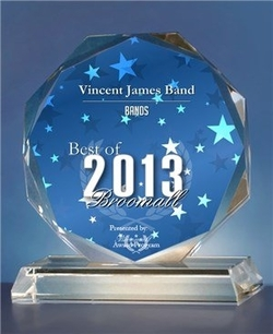 Vincent James Band, top Philadelphia wedding band.